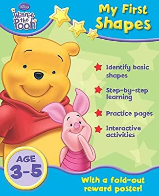 Disney Home Learning Winnie The Pooh My First Shapes By
