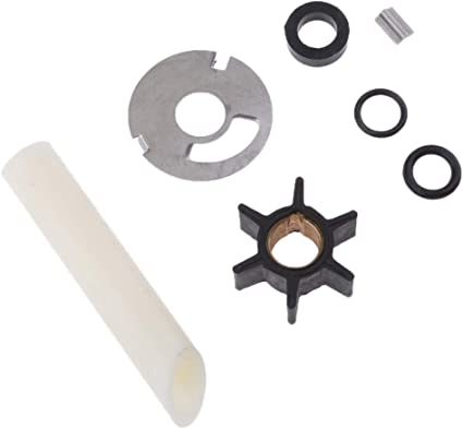 Water Pump Repair Kit Replacement for 47-89981Q1 Fit for 8 and 9.9 Horsepower Mercury and Mariner 4-Stroke Outboards with Standard Gearcase 47-89981T1