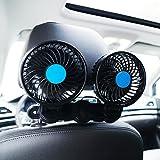 12 volt cooler air - Electric Car Fan for Rear Seat Passenger