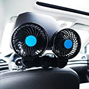 Electric Car Fan for Rear Seat Passenger