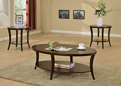 Clover & Moss Reagan Oval Coffee Table Set