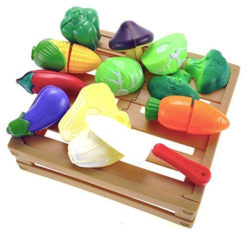 Kitchen Cutting Vegetables Pretend Playset