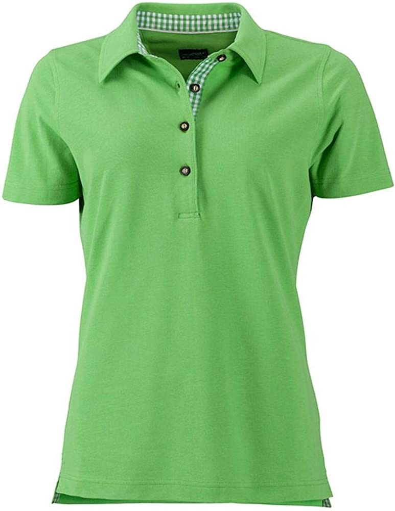 James and Nicholson Womens//Ladies Traditional Polo