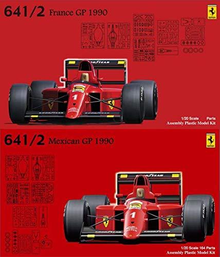 フジミ模型 1/20 グランプリシリーズ No.26 フェラーリ641/2 (メキシコGP/フランスGP) プラモデル GP26