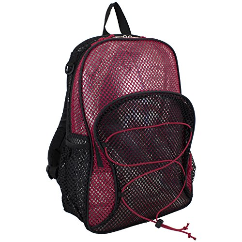 eastsport-mesh-bungee-backpack-red-one-size