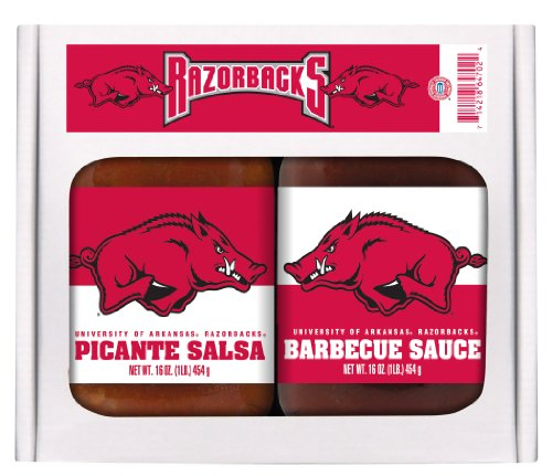 UPC 714218647024, 2 Pack ARKANSAS Razorbacks Double Play BBQ Salsa