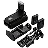 Powerextra Battery Grip + 2 × High Capacity 1500mAh EN-EL14 With Infrared Remote Control for Nikon D3100/D3200/D3300/D5300 Digital SLR Camera