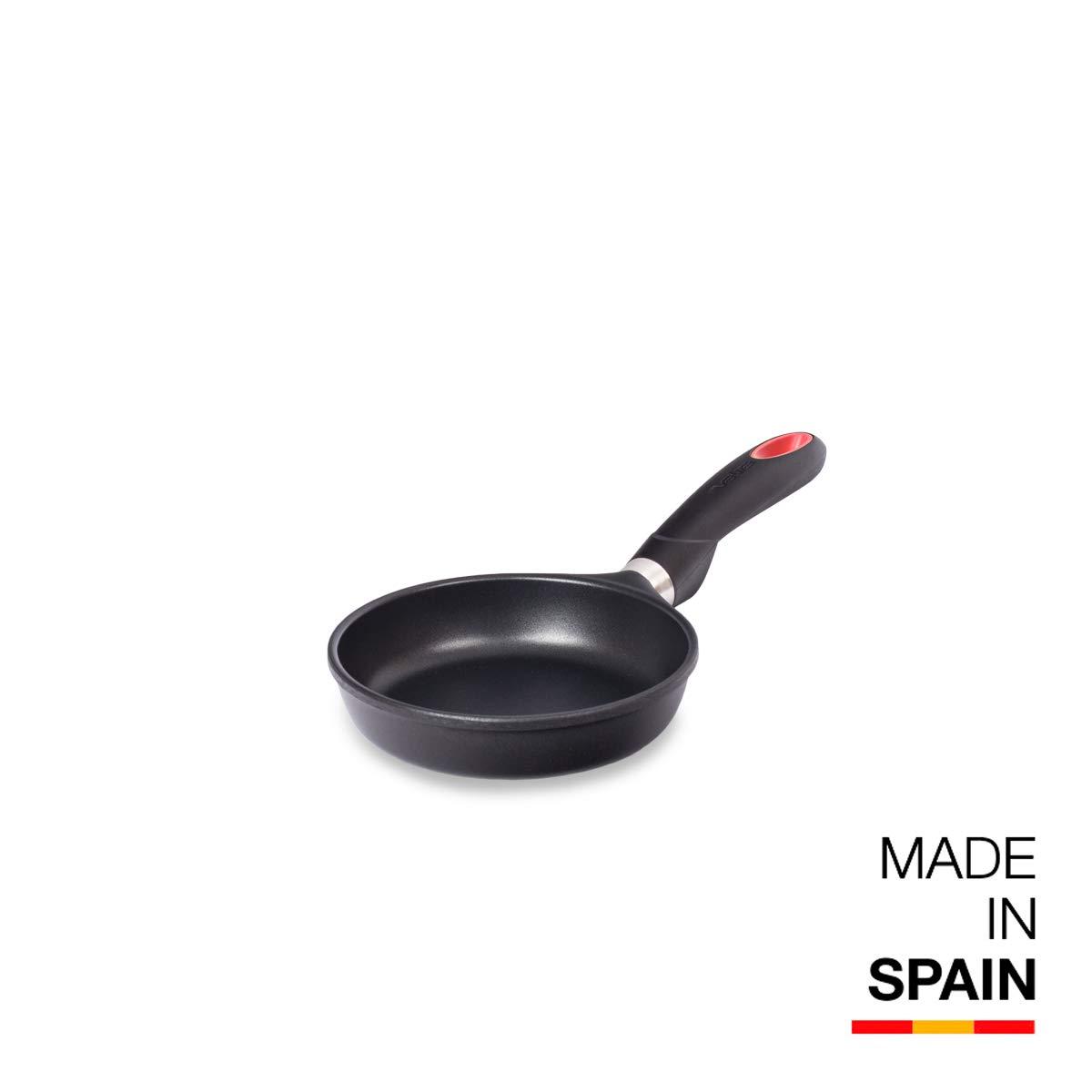 Valira Tecnoform - Sartén Premium de 16 cm hecha en España, aluminio fundido con antiadherente