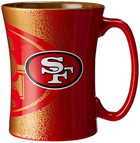 (NFL San Francisco 49ers Mocha Mug, 14-ounce, Red)