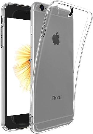 Captor Cover Trasparente per iPhone 6 6S, Custodia TPU in Silicone ...