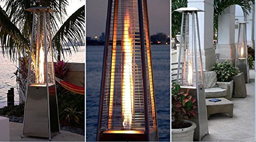 Amazon.com : AZ Patio Heaters HLDS01 GTSS Quartz Glass Tube Patio Heater :  Portable Outdoor Heating : Garden U0026 Outdoor