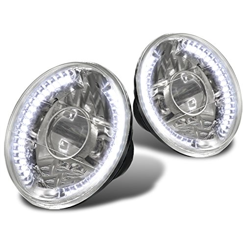 Mustang Projector Led Headlight - ZMAUTOPARTS Universal 7