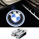 2 Pcs BMW Car Door Laser Projector LED Logo Ghost Shadow Light Welcome Emblem Courtesy Lamp for BMW 3/5/6/7/Z/GT/X Series
