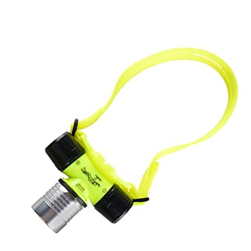Molde de bajo el agua lámpara de cabeza, Linterna LED, linterna para buceo (resistente al agua, cabeza lámpara de trabajo: Amazon.es: Bricolaje y ...