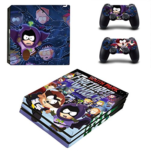 South Park  The Fractured But Whole Ps4 Pro Edition Skin Decal For Console And 2 Controllers
