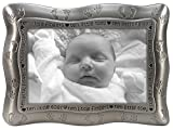 Malden International Designs Ten Little Fingers, Ten Little Toes Pewter Picture Frame, 4x6, Silver