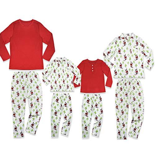 Family Matching Santa Claus Christmas Pajama PJ Set