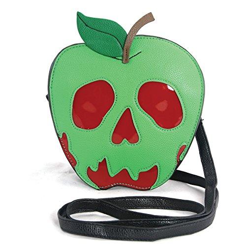 The Poisoned Apple (Sleepyville Critters - Poison Apple Crossbody Bag in Vinyl Material)