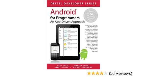 Android for Programmers: An App-Driven Approach (Deitel