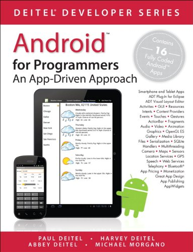 Android for Programmers: An App-Driven Approach (Deitel...