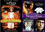 Heroes & Weirdos 5 Movie Thrills & Chills Ghost Rider Marvel / Mothman Prophecies / The Bride / Secret Window & Wicker Man DVD Collection