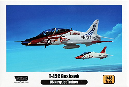 WPD14805 1:48 Wolfpack T-45C Goshawk - Premium Edition Kit [MODEL BUILDING - Edition Kit Premium