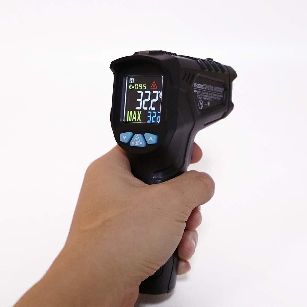 Handheld Hochtemperatur Infrarot Thermometer K/üche Lebensmittel Elektronische Thermometer Back/öltemperatur Tester