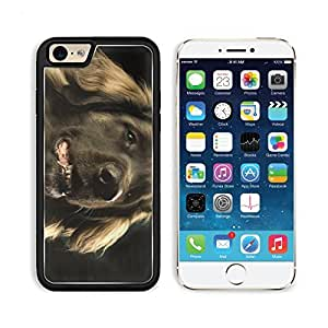 Dog Leonberger Muzzle Profile Pets Animal Apple iPhone 6 TPU Snap Cover Premium Aluminium Design Back Plate Case Customized Made to Order Support Ready Liil iPhone_6 Professional Case Touch Accessories Graphic Covers Designed Model Sleeve HD Template Wall wangjiang maoyi