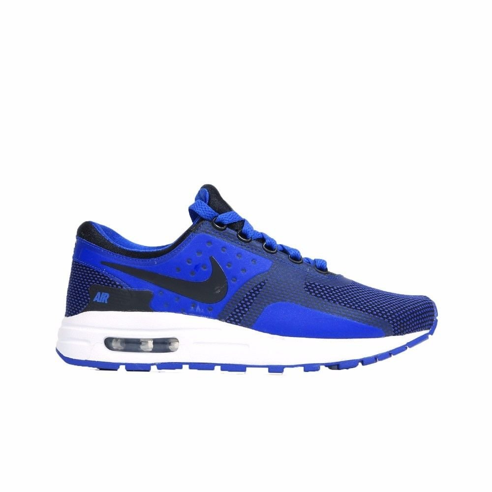 Nike  Air Max Zero Essential GS Running Shoe B06W5CSDHB 4 M US Big Kid|Black/Black-paramount Blue-binary Blue