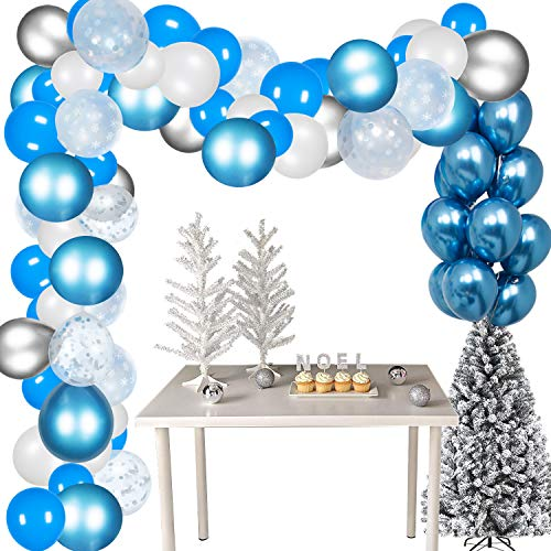 Wonderland Decorations - Gorse 113 Pack Snowflake Balloon Garland