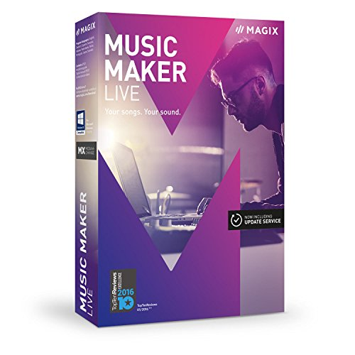 MAGIX Music Maker – 2017 Live Edition – Make music with loops by MAGIX
