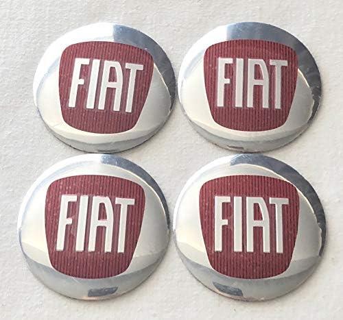 JTAccord Emblema per Auto in Metallo Coprimozzo per mozzo Centrale Coprimozzo per Ruota Adesivo Decorativo per Smart 453 Fortwo Forfour 2015-2019,58MM 4 Pezzi