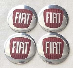 Adhesivo con logotipo para tapacubos, emblema de Fiat, juego ...