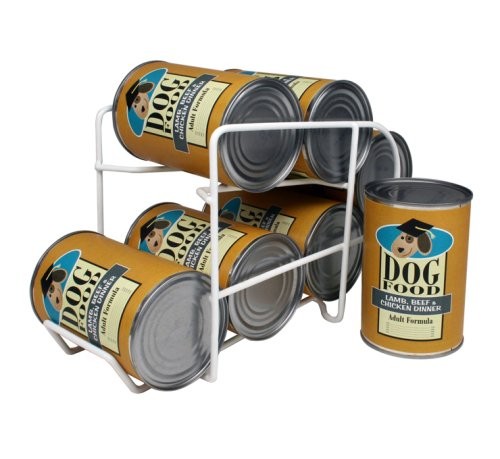 IRIS Wire Can Dispenser for Canned Dog Food Storage, 22-Ounce, 6 Cans, My Pet Supplies