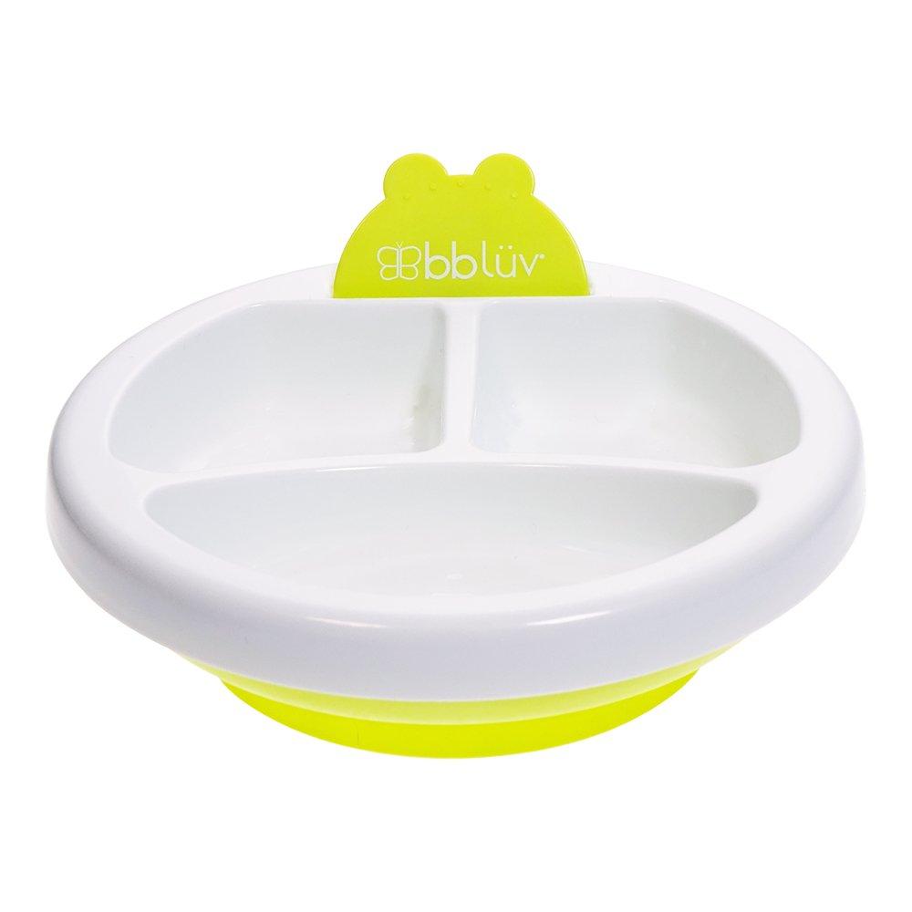 bblüv – Platö - Warm Feeding Plate for Baby (Aqua) bbluv Group B0107-B