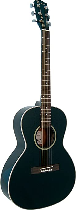 Blue Moon BG-20-K - Guitarra acústica, color negro: Amazon.es ...