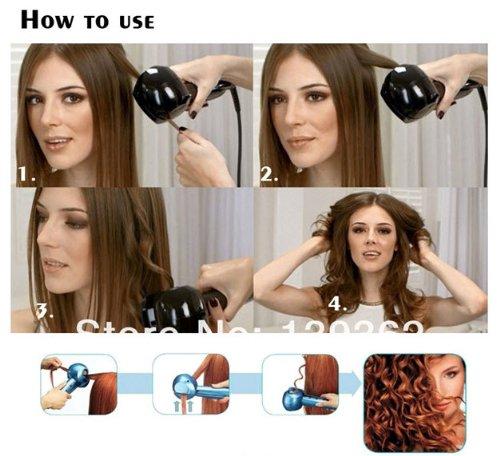 Codos Perfect Curl Machine - Rizador de pelo, color rosa: Amazon.es: Salud y cuidado personal