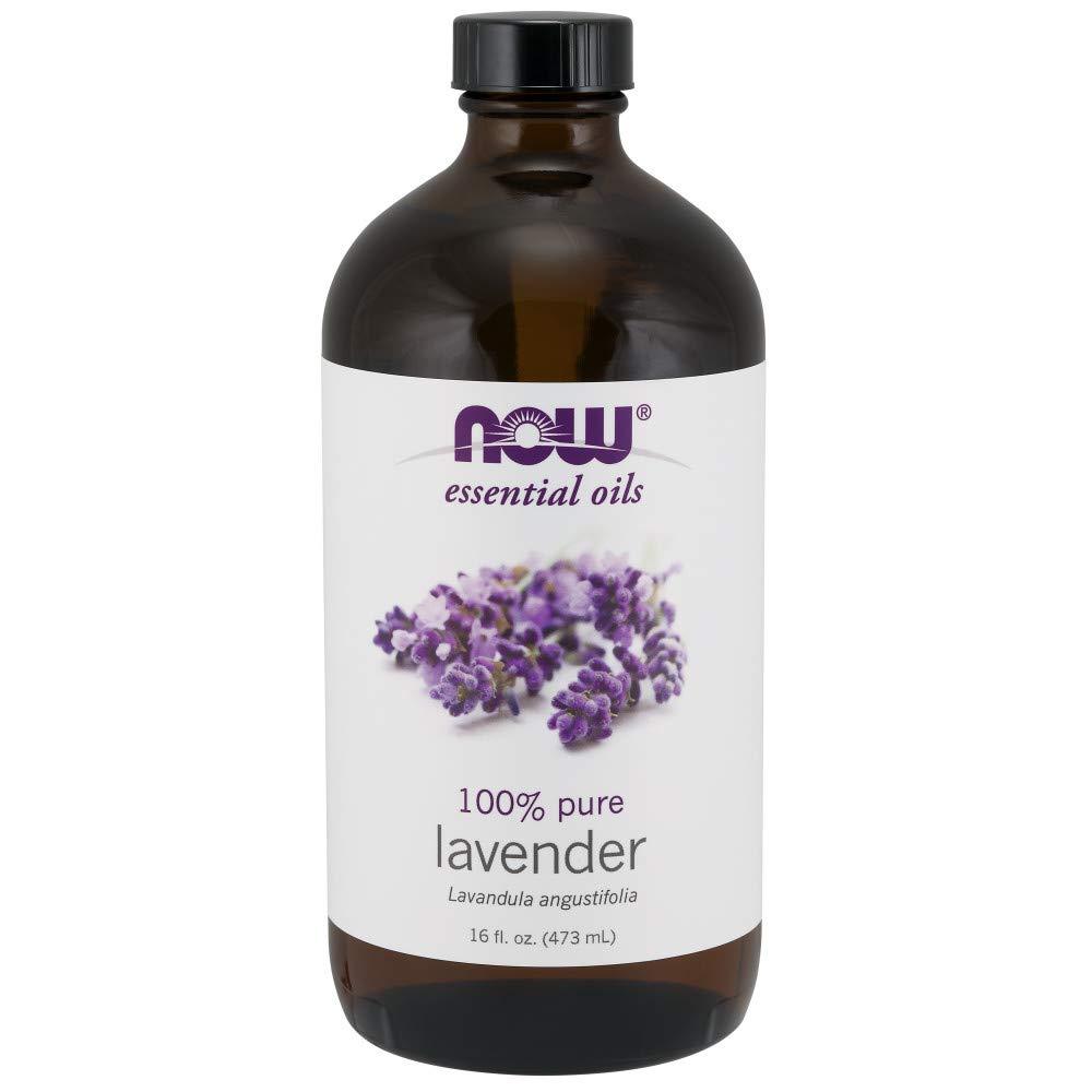 NOW Essential Oils, Lavender Oil, 16 Fl. Oz (Pack of 1)