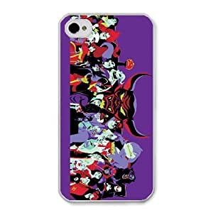 The best gift for Halloween and Christmas iPhone 4 4s Cell Phone Case White Freak badass disney villains by disney villains VIK9181863