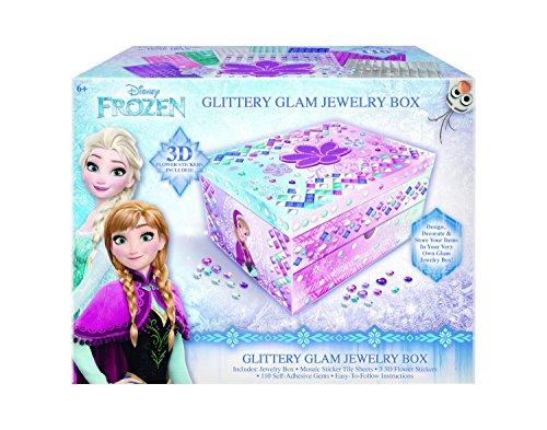 Frozen DIY Glittery Glam Jewelry Box (Jewlery Frozen)