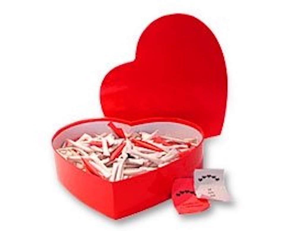 Gutschein-Box Love Heart Lovebox English mit 365 Liebeslosen auf Englisch Geschenkbox GmbH