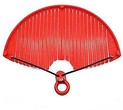 Rangoli Strainer Strainer  Red Pack of 1  Strainers   Sieves