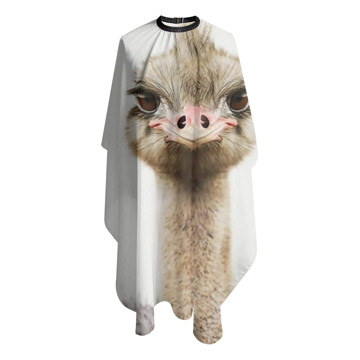 """Professional Barber Cape Salon Hair Styling Cutting Haircut Aprons Ostrich Print Animal Capes For Proof Hairdresser Coloring Perming Shampoo Chemical 55"""""""" X 66 : Beauty"""