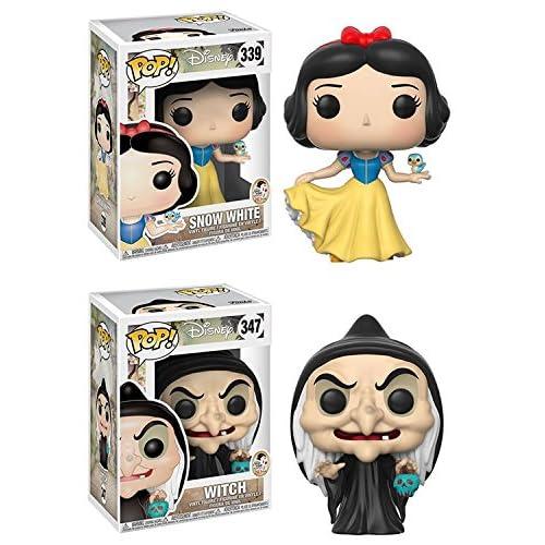 Funko POP! Snow White and the Seven Dwarfs: Snow White + Witch - Disney Vinyl Figure Set NEW