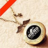 Sherlock Holmes Keychain I AM SHERLOCKED Logo With Photo Handmade