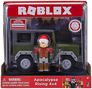 roblox apocalypse rising  vehicle red figure jazwares