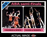 1975 Topps # 309 ABA Semi-Finals Kentucky / St. Louis / Indiana / Denver Colonels / Spirits / Pacers / Nuggets (Basketball Card) Dean's Cards 6 - EX/MT Colonels / Spirits / Pacers / Nuggets