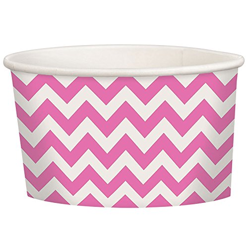 Chevron Treat Cups, Pack of 20 (Pink)