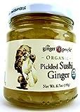 The Ginger People Organic Pickled Sushi Ginger, 6.70 oz Jar Frustration Free Packaging