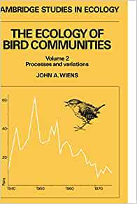 The Ecology Of Bird Communities Volume 2 Processes And